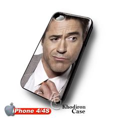 Robert Downey Jr iPhone 4 4S Case