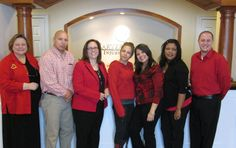 Our New Britain office has a lot of spirit, and they stepped right up to wear red for National Heart Month.