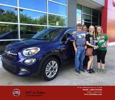 https://flic.kr/p/G5y7j8   FIAT of Dallas Customer Review   THIS WAS A GREAT EXPERIENCE!  JESSICA WAS GREAT TO WORK WITH AND SO WAS MIGUEL!  THEY MADE THE PRCESS SO EASY AND QUICK!  WE APPRECIATE GREAT CUSTOMER SERVICE!  Kathy and Bryan, deliverymaxx.com/DealerReviews.aspx?DealerCode=F741&R...