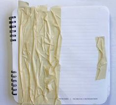 Masking tape for texture