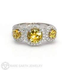 Hey, I found this really awesome Etsy listing at https://www.etsy.com/listing/212298469/yellow-sapphire-ring-sapphire-engagement