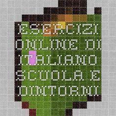 Esercizi online di Italiano - Scuola e dintorni
