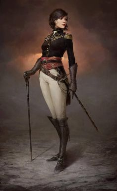 Annabel by Sergey Gurskiy (concept artist and illustator) Fantasy Character Design, Character Concept, Character Inspiration, Character Art, Animation Character, Design Inspiration, Art Steampunk, Steampunk Fashion, Steampunk Female