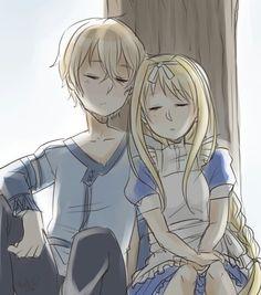 Eugeo and Alice | Sword Art Online (SAO) Alicization-Underworld