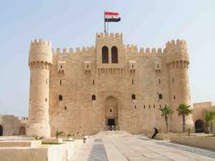 Qaitbay citadel in Alexandria -Egypt Holidays  http://www.maydoumtravel.com/
