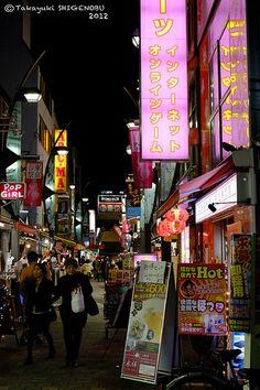 Ameyoko Street Times Square, Street, Roads, Walkway