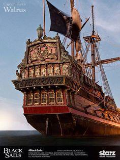 The Warlus. I really miss this boat at season 2. Black Sails. Starz