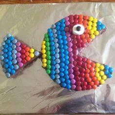 Regenbogenfisch Geburtstagskuchen