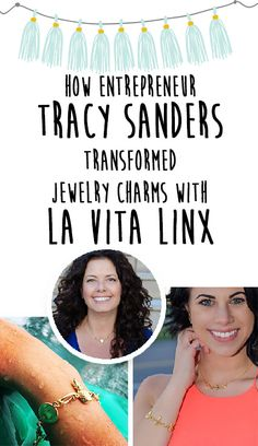 How Entrepreneur, Tracy Sanders transformed jewelry charms with her amazing invention, La Vita Linx! Save 25% off at lavitalinx.com with Promo Code LVL25! Click for details!