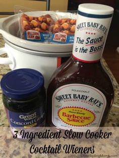 One of my favorite appetizers to make during the holidays is 3 Ingredient Slow Cooker Cocktail Wieners. Cocktail Weiners, Cocktail Sausages, Appetizer Dips, Appetizers For Party, Appetizer Recipes, Dinner Recipes, Cocktail Sausage Recipes, Crock Pot Appetizers, Brunch Recipes