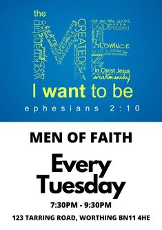 This group is for men in the Worthing, UK of the christian faith area to meet up, build each other up, and support each other through life's struggles. This Tuesday Evening at the Pause Community Hub in Tarring Road Worthing Christian Messages, Christian Faith, To Be Wanted, Interest Groups, Faith Walk, Worthing, New Friendship, Listening To You, Tuesday