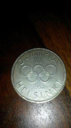 500 mk Kolikko 1952 Olympiaraha - Huuto.net