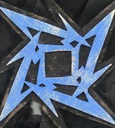 23501757c5b Metallica logo art wood wall art wooden sign rock logo by Sanchezz
