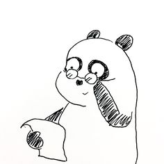 【一日一大熊猫】2016.11.14 アンチエイジングの日。 しかーし、エイジングとは時を経て、いい感じに仕上がる事だと思うよ。 #パンダ #アンチエイジング