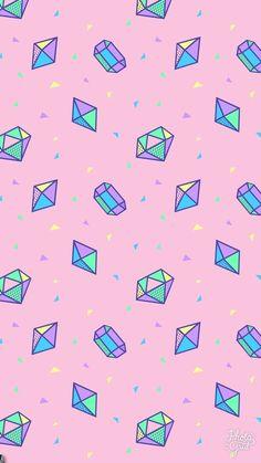 Beautiful Whatsapp Background Du from each other. Tumblr Wallpaper, Wallpaper Pastel, Unicornios Wallpaper, Diamond Wallpaper, Cute Wallpaper For Phone, Cute Patterns Wallpaper, Kawaii Wallpaper, Cute Wallpaper Backgrounds, Pretty Wallpapers