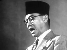 The first Indonesian president speech documentary