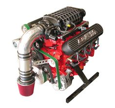 Ls1 engine for an airboat setup equipped with corvette water pump custom built lsx 427 cubic inch engine with magnuson tvs2300 supercharger built for airboat usage built using callies rotating assembly crank rods malvernweather Images