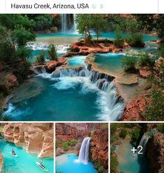 travel destinations pictures Havasu Creek, AZ - lets go! Vacation Places, Vacation Destinations, Dream Vacations, Vacation Spots, Oh The Places You'll Go, Cool Places To Visit, Nature Architecture, Beautiful Places To Travel, Adventure Travel