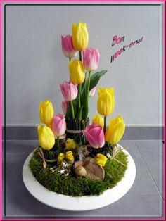 Image - C'est le week-end !!!!! Joyeuses pâques - Art floral - Skyrock.com