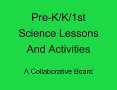 Need science ideas? Check out this collaborative board for great lessons and activities.