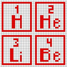 Free Periodic Cross Stitch Patterns (all elements provided)