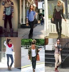 Wear your combat boots this fall. Outfit ideas