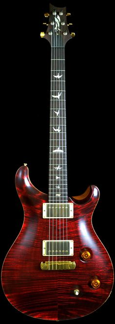 Wild West Guitars : PRS NOS (2007 Neck) Modern Eagle Red Tiger Brazilian Rosewood Neck