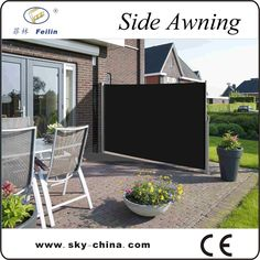 Source Outdoor Retractable Wind Screen Side Awning For Balcony On  M.alibaba.com | Deck | Pinterest | Products, Outdoor And On