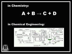 haha chemistry vs. chemical engineering