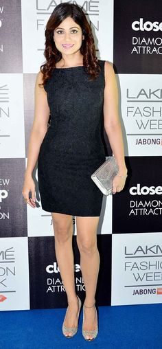 Shamita Shetty on Day 5 at the Lakme Fashion Week Winter/Festive 2014. #Bollywood #Fashion #Style #Beauty