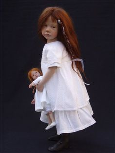 Авторские куклы Лауренс Руе (Laurence Ruet dolls). Творчество талантливого мастера из Франции / Laurence Ruet, Лоуренс Руэ коллекционные куклы / Бэйбики. Куклы фото. Одежда для кукол