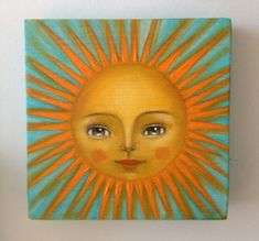 Image result for sun face illustration