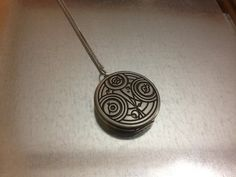 Doctor Who Inspired Gallifreyan Locket Necklace