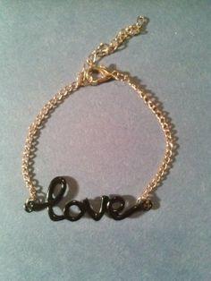 Love Charm Bracelet - $10