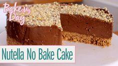 Nutella No Bake Cake | BakeMyDay