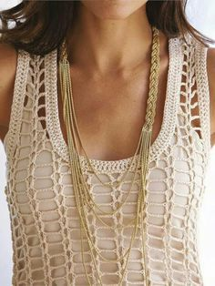 Blusa facil crochet