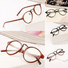 858d0500eb Nerd Glasses Clear Lens Unisex Retro Eyeglasses Eyeglasses