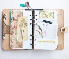 Decorative organizer pages - add as necessary to keep 'unorganized' creativity healthy!