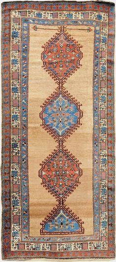 Persian Serab camel hair rug, J.H. Minassian gallery