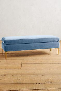 Or this one if it's not too big. Velvet Edlyn Bench