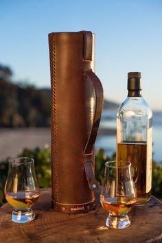 Leather Whiskey Case