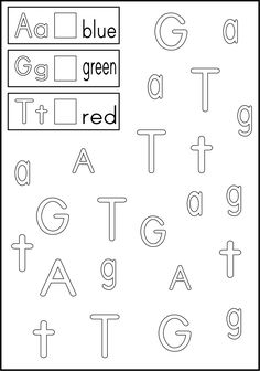 Various alphabet worksheets. I like that it mixes different letters instead of just one at a time.