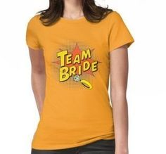 Team Bride, Pop Art, Art Ideas, Bridesmaid Dresses, Instagram Posts, Party, T Shirt, Wedding, Tops