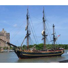 I am so looking for Johnny Depp! The Bounty Tall Ships Savannah 2012