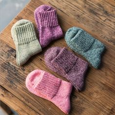 """""""Cinderella"""" 5 Pairs Womens Socks Wool Everyday Casual Solid Warm Cute Soft Sox #Unbranded #Casual"""