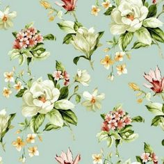 Londres 123-65 Floral pattern fabric from our offer.
