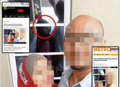 Gempar !! Seram. Selfie ditengah hari di perhatikn oleh makhluk Lama dari Malaysia Ini Dah Jadi Viral Sampai ke Rusia   Rusia 31 Mac- Satu gambar selfie yang memaparkan seorang wanita bertudung berselfie dengan seorang lelaki berkacamata kini menarik perhatian satu dunia.  Jika dilihat secara teliti ada yang tidak kena di gambar tersebut dimana refleksi wanita tersebut tidak tepat dengan 'hukum refleksi'.  Gambar ini sebenarnya sudah lama viral di Malaysia namun ianya mula tersebar secara…