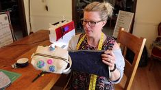 Quilted Boxy Zipper Bag tutorial Tia Curtis