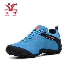 2015 Xiang Guan women outdoor waterproof hiking trekking climbing shoes woman mountain scarpe treking Vogue sport shoes