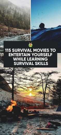 The best way to survive a cold winter is to cuddle up and binge watch this selection or survival movies. You'll even learn survival tricks at the same time! #survivalhacks